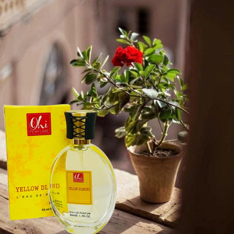 thiết kế chai nước hoa nữ Yellow 50ml